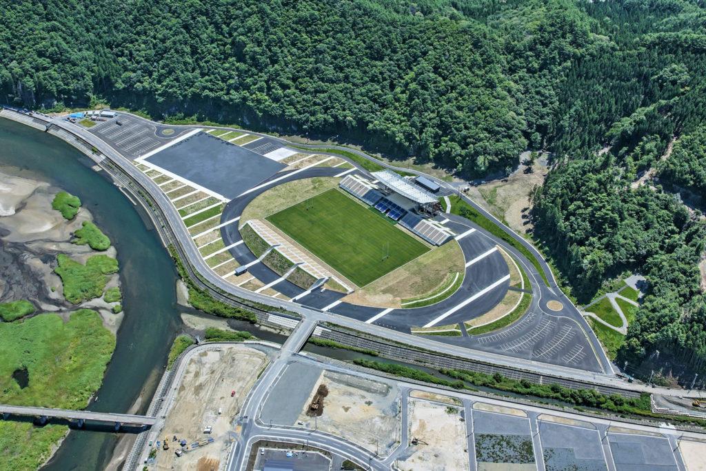 kamaishi unosumai memorial stadium, iwate