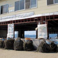 Japan, Ishinomaki, Kobuchi-hama, Kobuchihama, fishing, ropes, coils, piles, debris, clean-up, recovery, efforts, 3.11, 2011, March 11