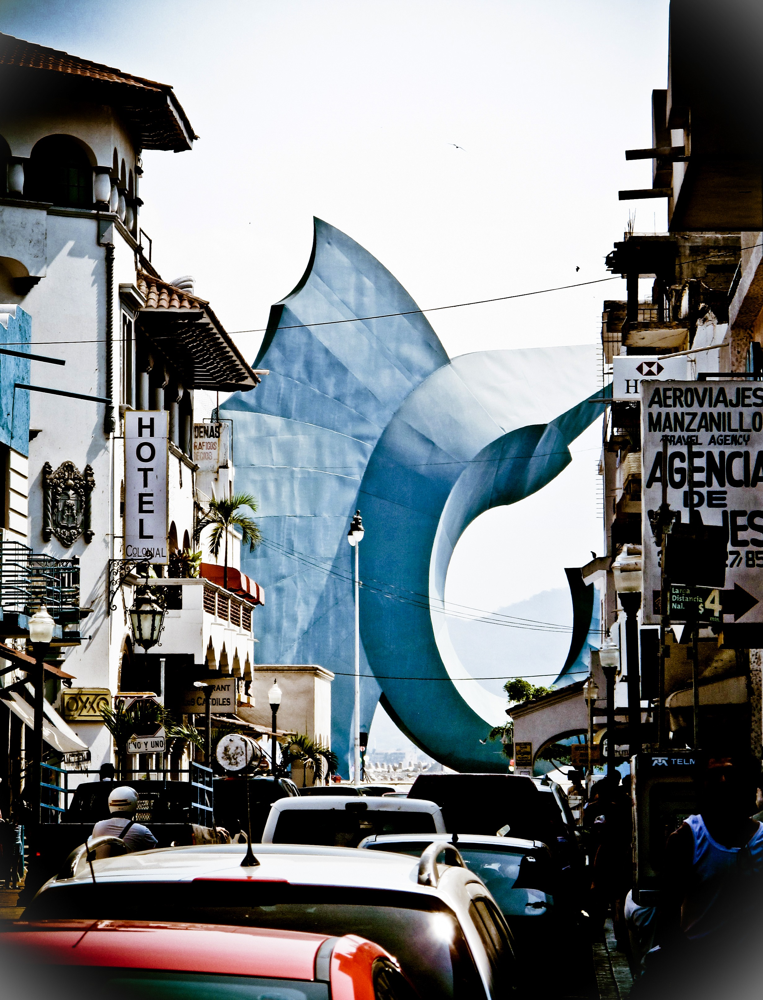 The Sail Fish Statue, Manzanillo, Mexico
