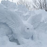 Sapporo Snow Festival, Odori site, Hokkaido, Japan.