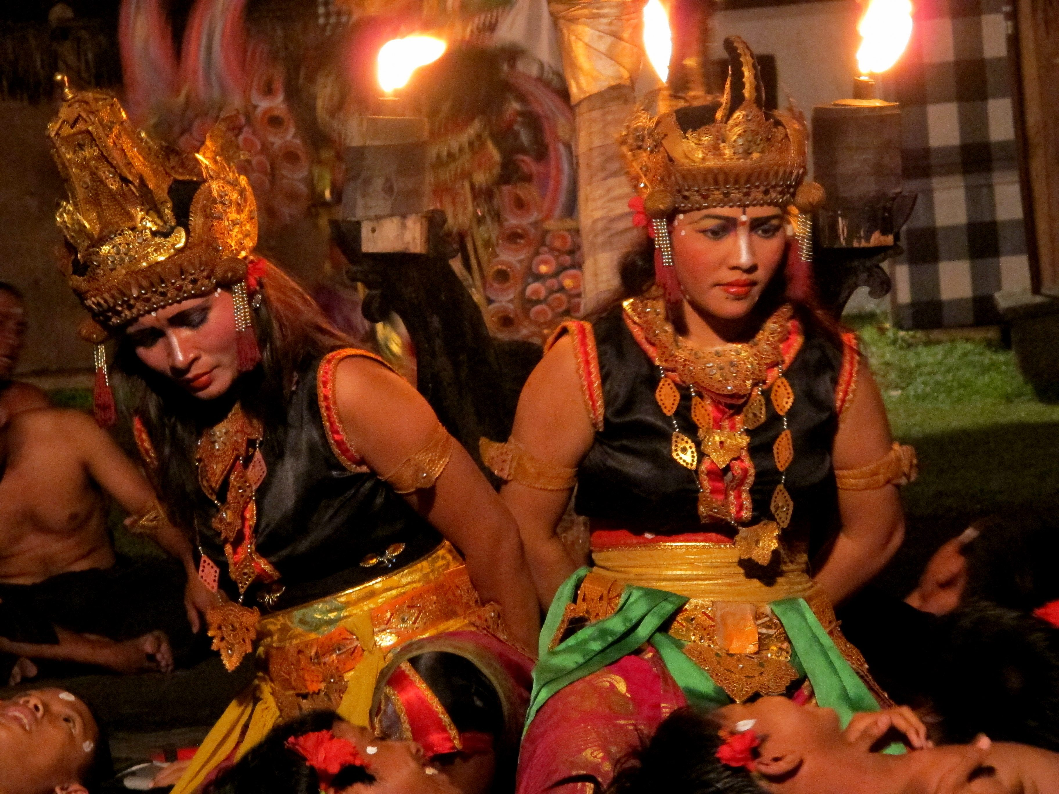 Kecak dance performance, Bali, Indonesia.