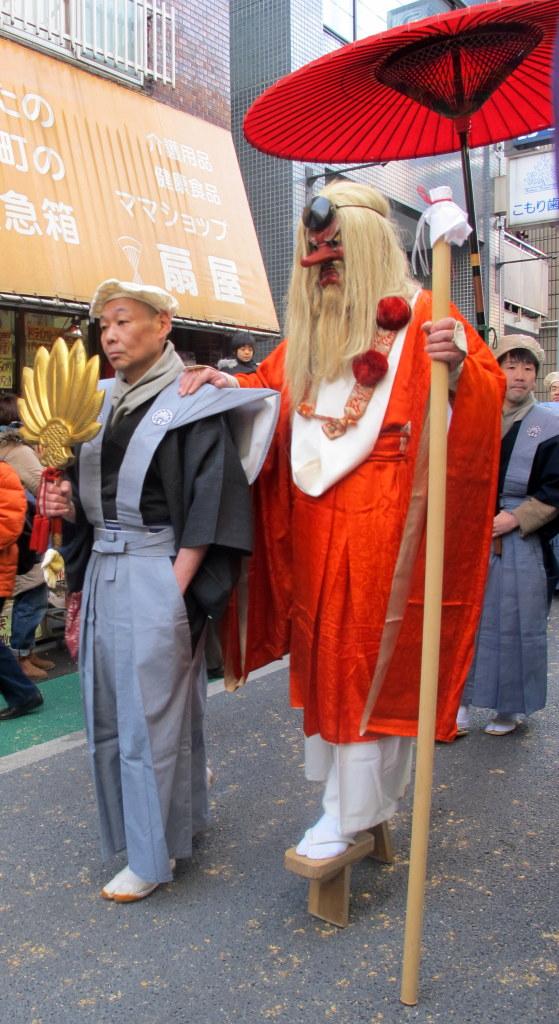 Shimokita Tengu Matsuri, Tokyo, Japan.