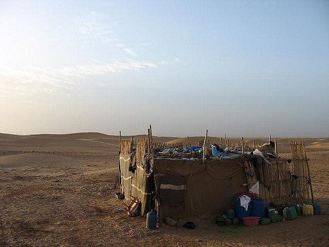 Camel trek, Sahara Desert, Morocco, Africa