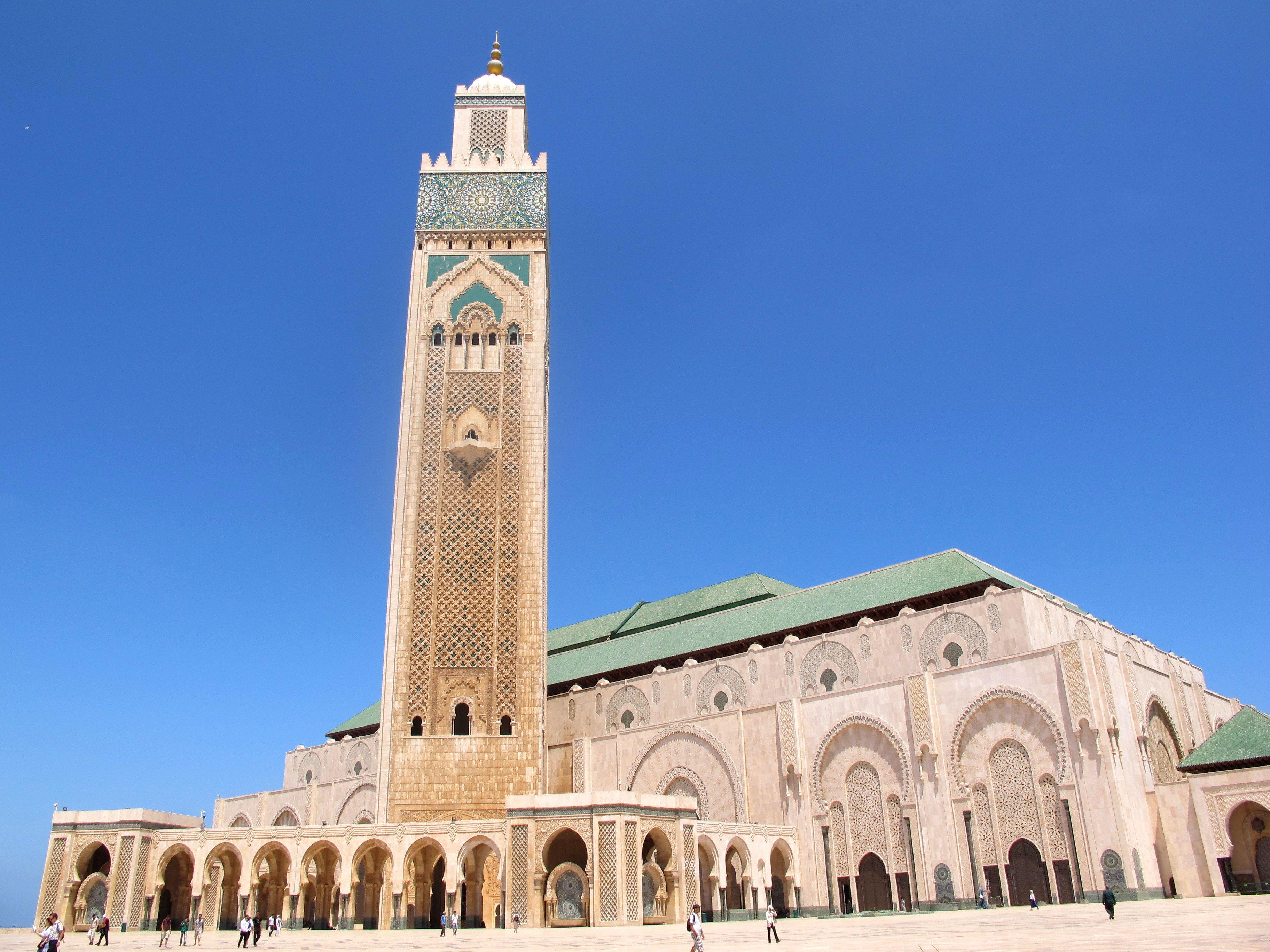 High-tech Mosque