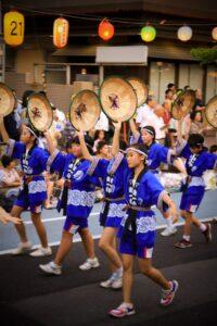 Yamagata Hanagasa Matsuri, Japan