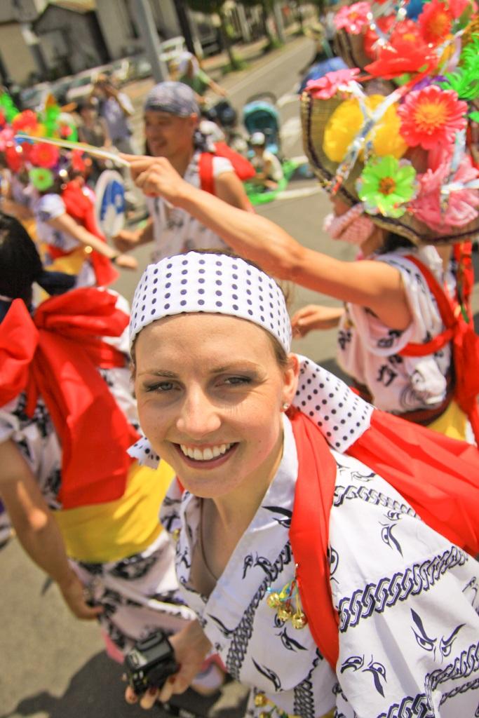 Haneto Dancing, Nebuta Matsuri, Aomori, Japan