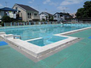 School swimming pool, Tokyo, Japan