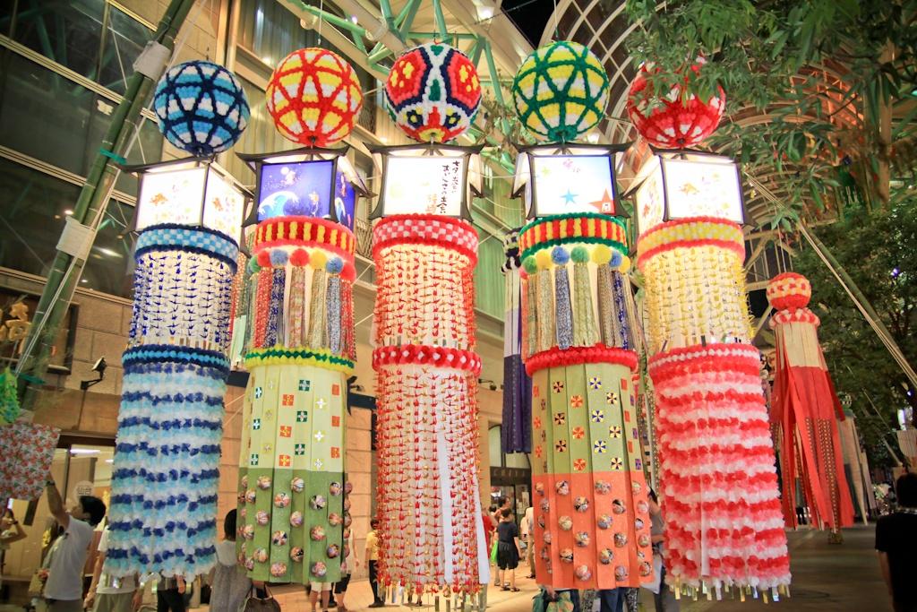 Tanabata Matsuri, Sendai, Japan