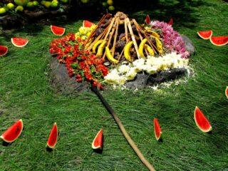 Mayan summer solstice ceremony, Guatemala