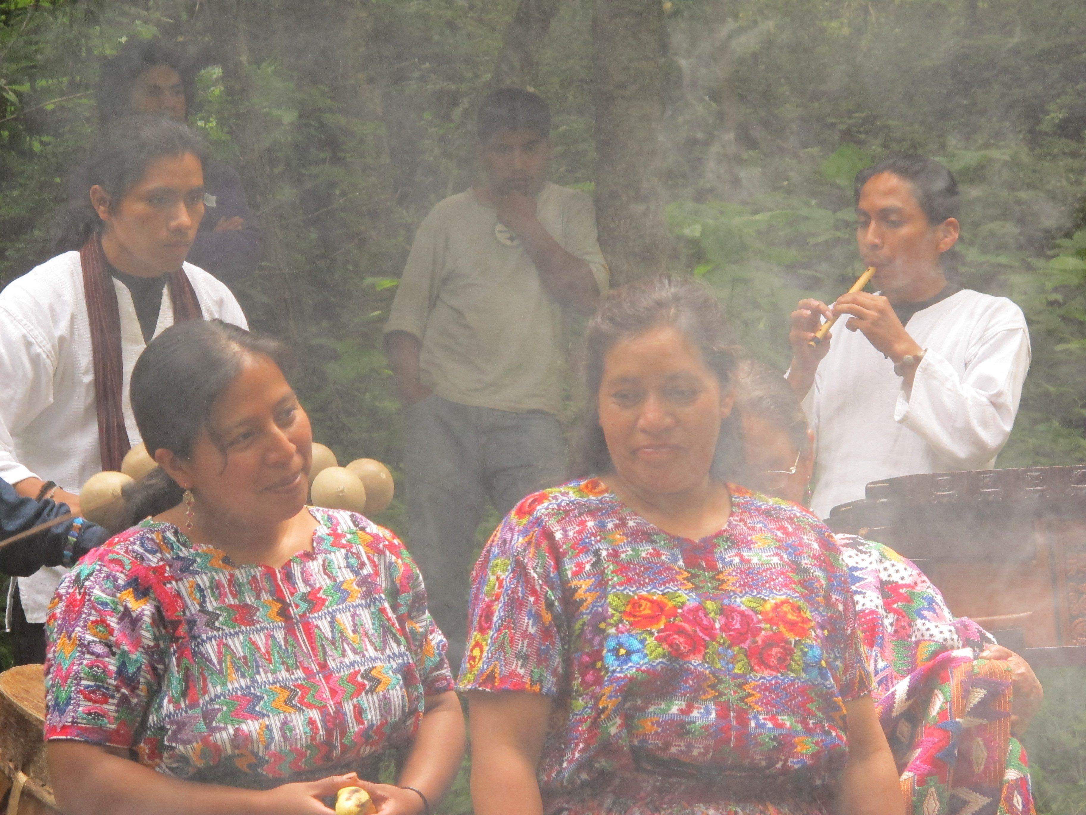 Mayan, summer solstice, ceremony, Guatemala, women
