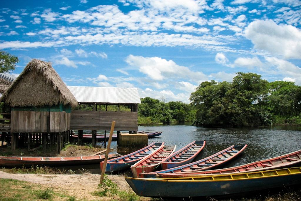 Boats, Pampas, Bolivia