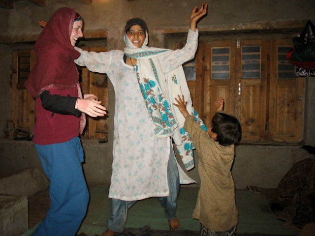 Gypsy Family, Himalayas, Kashmir, India
