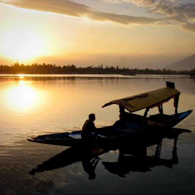 Houseboat, Nageen Lake, Srinagar, Kashmir, India