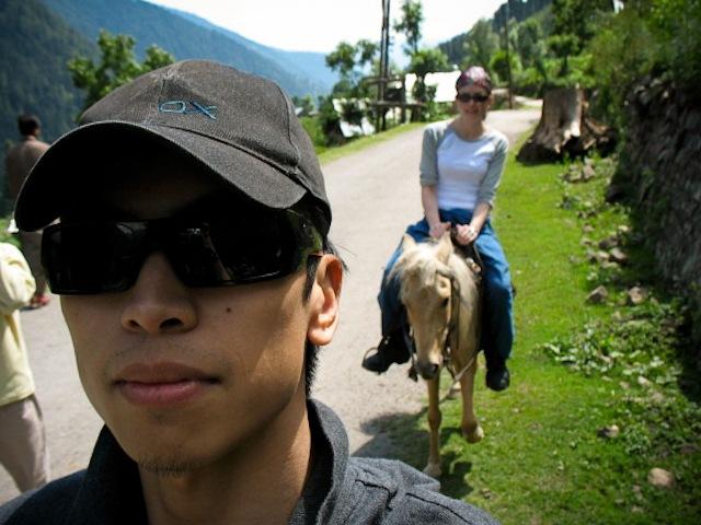 Practice Hike, Himalayas, Kashmir, India