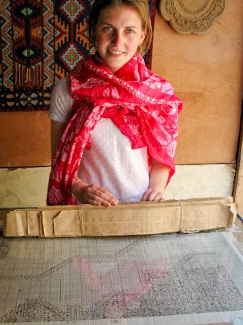 Carpet weaving, Srinagar, Kashmir, India