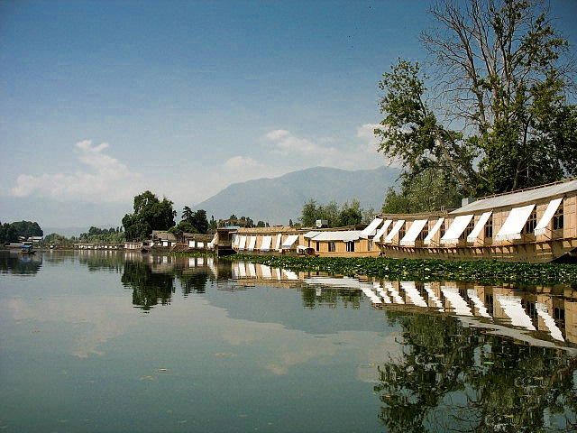 The water trek, Srinagar, Kashmir, India