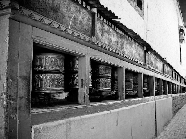 Travel, India, Leh, Ladakh, Jammu, Kashmir, gompa, monastery, Tibetan, prayer, wheels