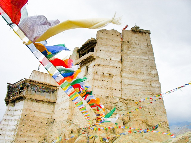 Travel, India, Leh, Ladakh, Jammu, Kashmir, gompa, monastery, Tibetan, prayer, flags