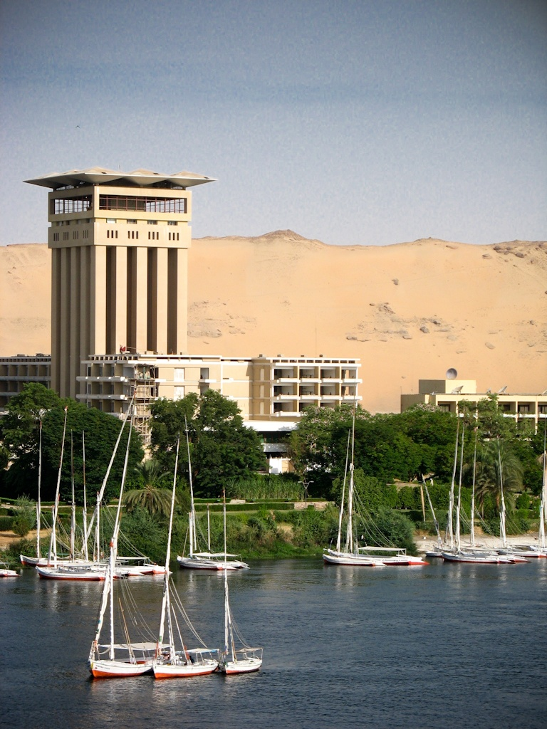The Nile by Felucca