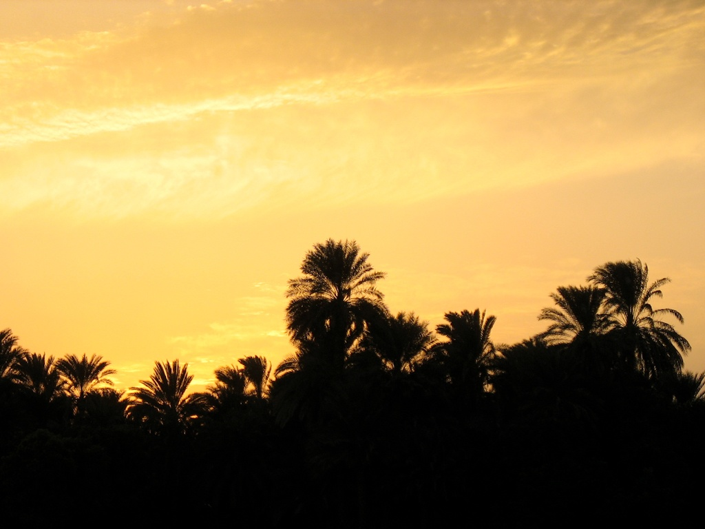 Sunset, Felucca Trip, The Nile, Egypt