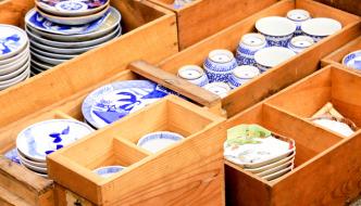 Setagaya Boro-ichi, stalls, flea market, Tokyo