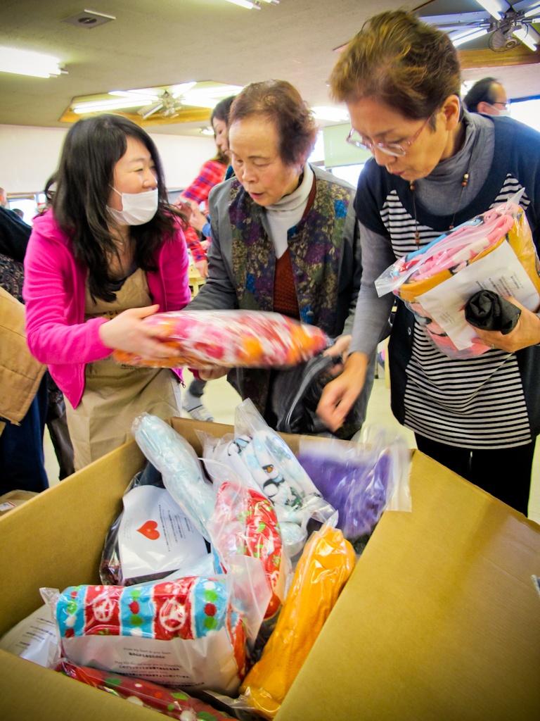 blankets, emergency, evacuation, shelter, Fukushima, nuclear, disaster, Japan