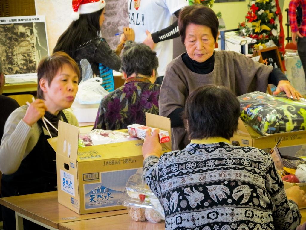 food, supplies, emergency, evacuation, shelter, Fukushima, nuclear, disaster, Japan