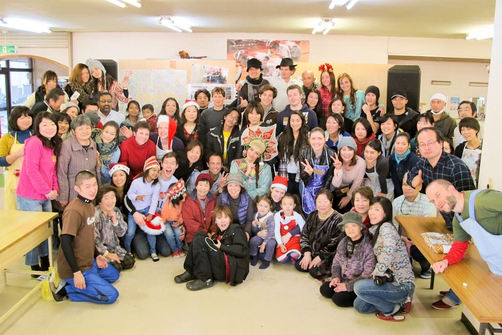 evacuees, group, emergency, evacuation, shelter, Fukushima, nuclear, disaster, Japan