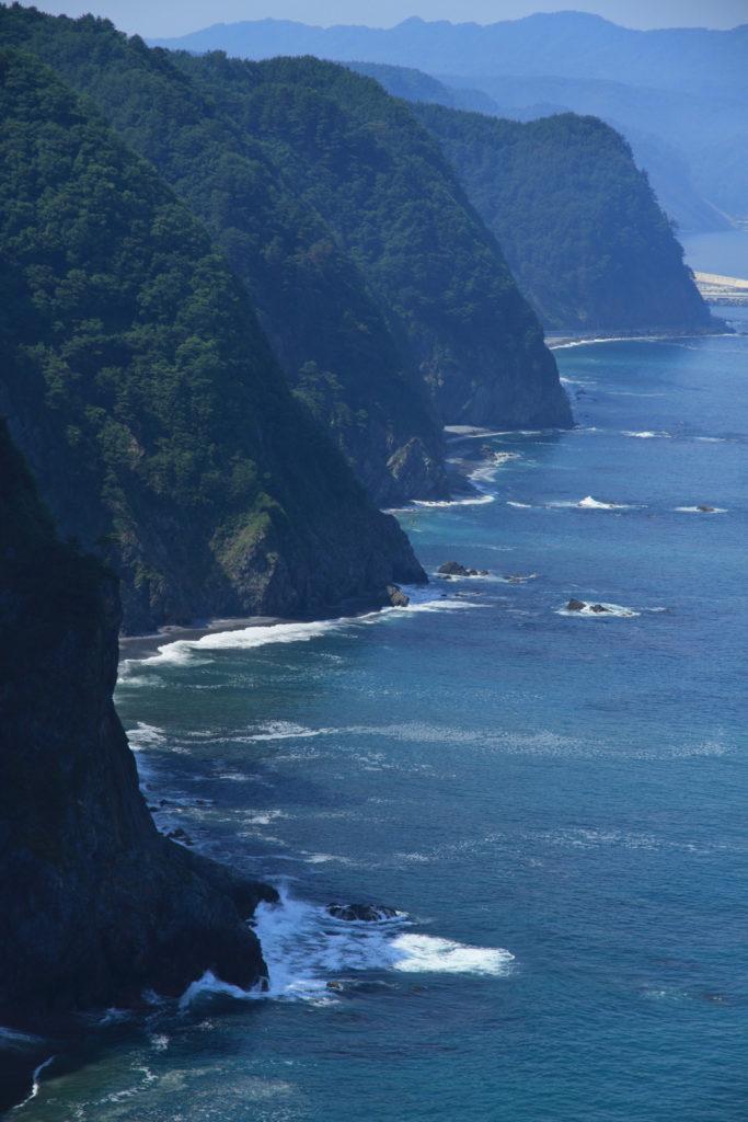 Michinoku Coastal Trail - Tanohata Unosu Cliff