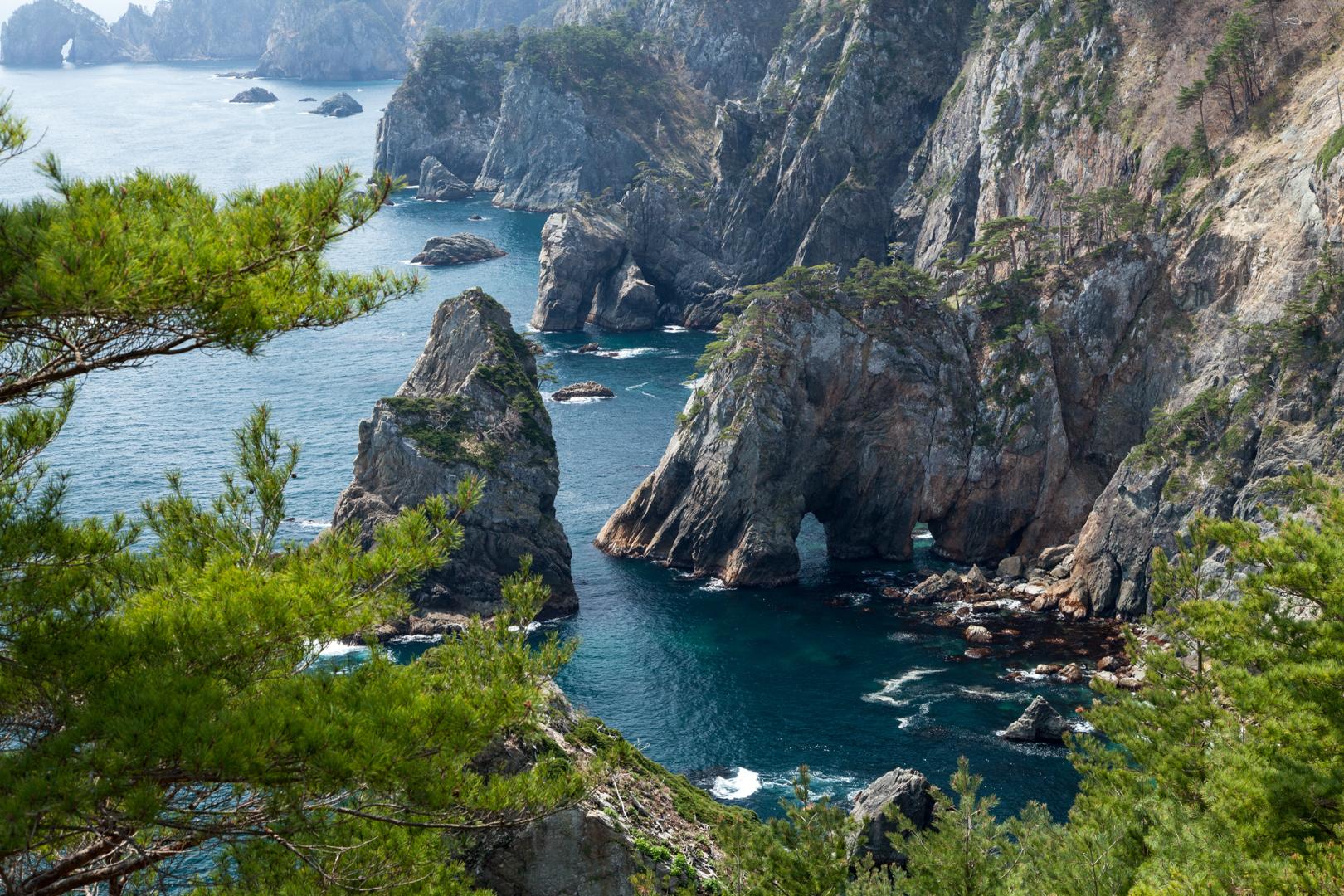 Michinoku Coastal Trail - Tanohata Kitayamazaki