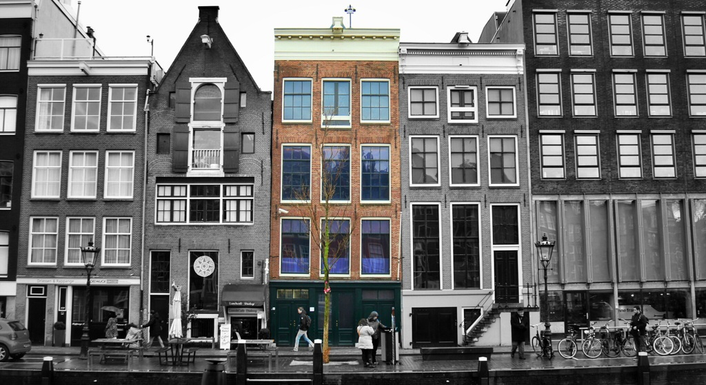 anne frank house amsterdam netherlands