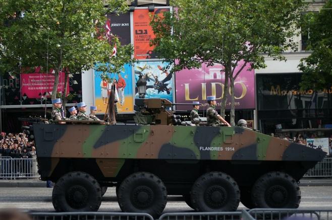 Bastille Day Military Parade on the Champs-Élysées, Paris, France