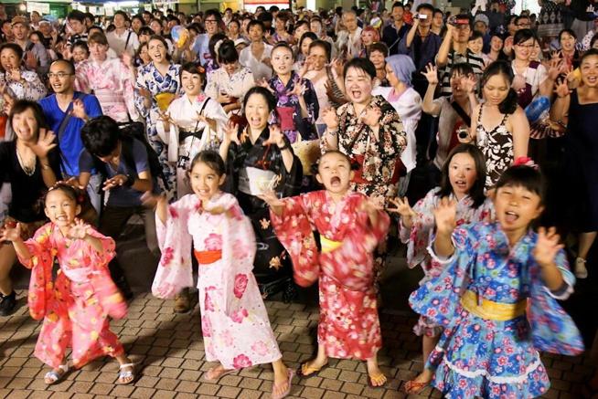 New Bon Odori Festival, Ikebukuro, Tokyo, Best Japanese Festivals in August