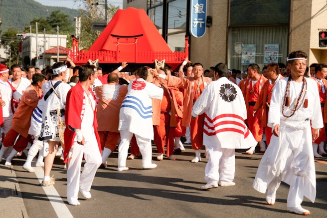 Yoshida Fire Festival, Yoshida Himatsuri, Mt. Fuji, Best Japanese Festivals in August