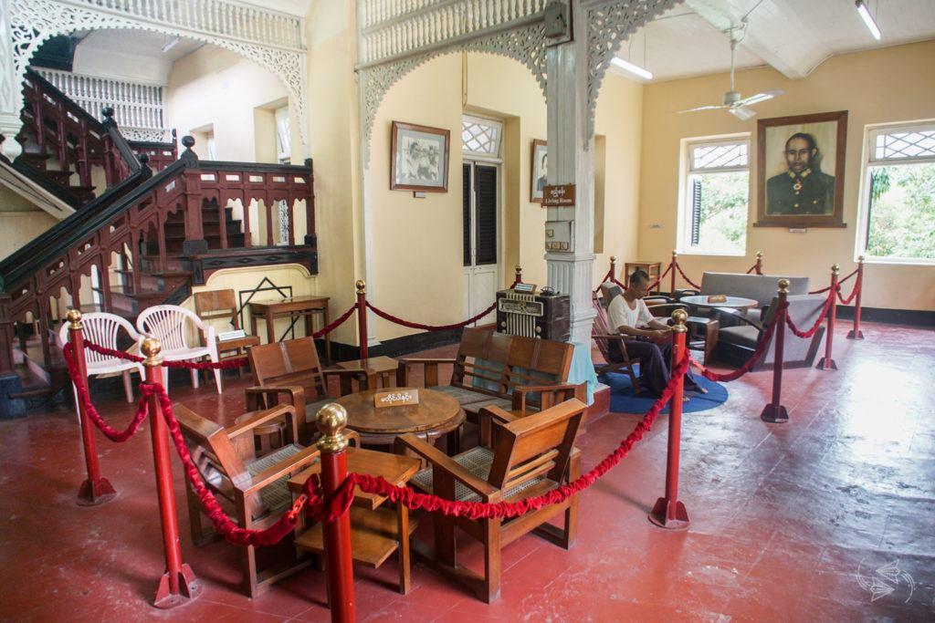 Bogyoke Aung San Museum Yangon Myanmar