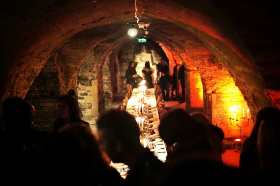 Bram Stoker Festival Dublin Bram's Banquet Crypt Christ Church Cathedral