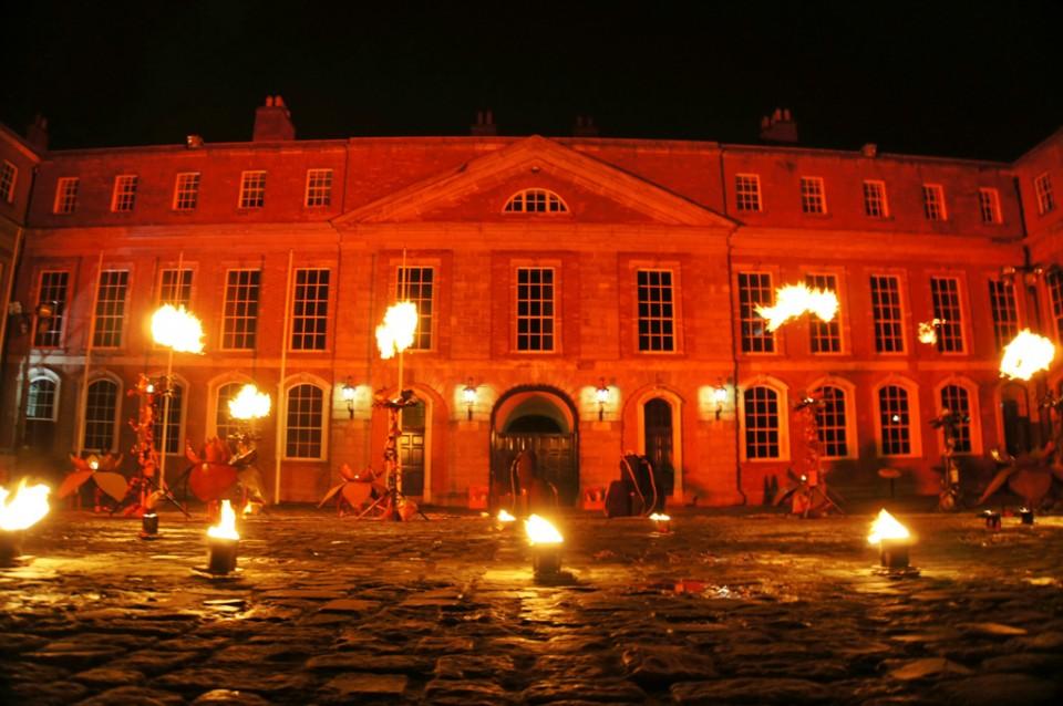 Bram Stoker Festival Dublin Fire Garden