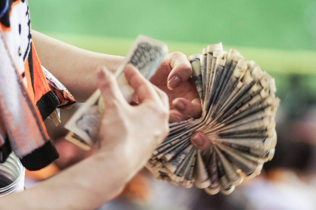 Cash society Japan
