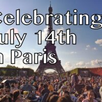 Celebrating July 14th Paris