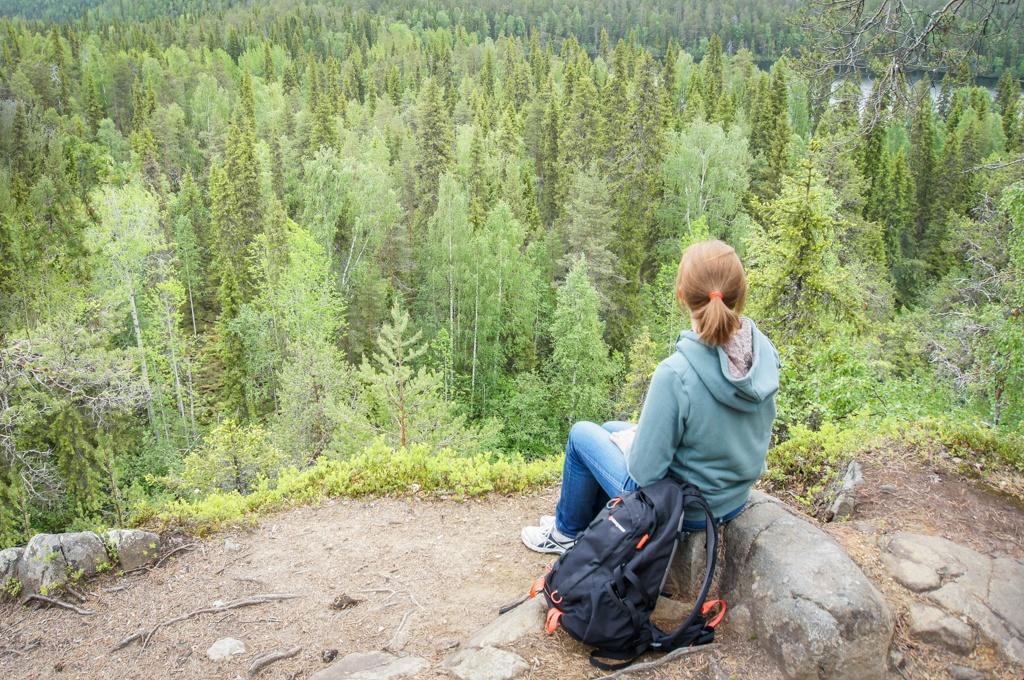 Hiking in Salla, Lapland, Finland