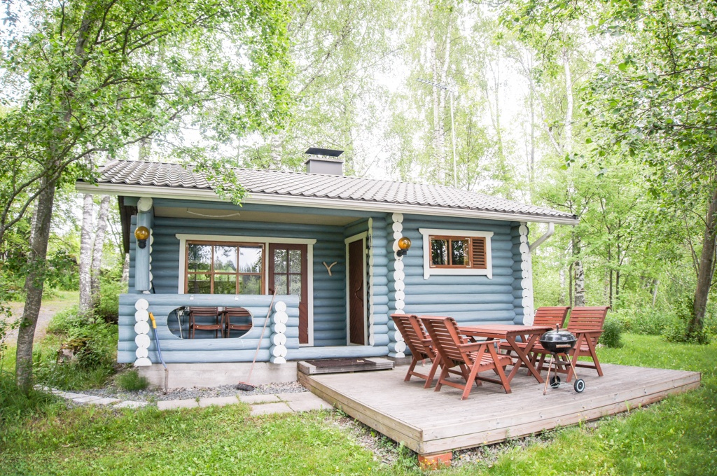 Rock and Lake Summer Cottage, Lakelands, Finland
