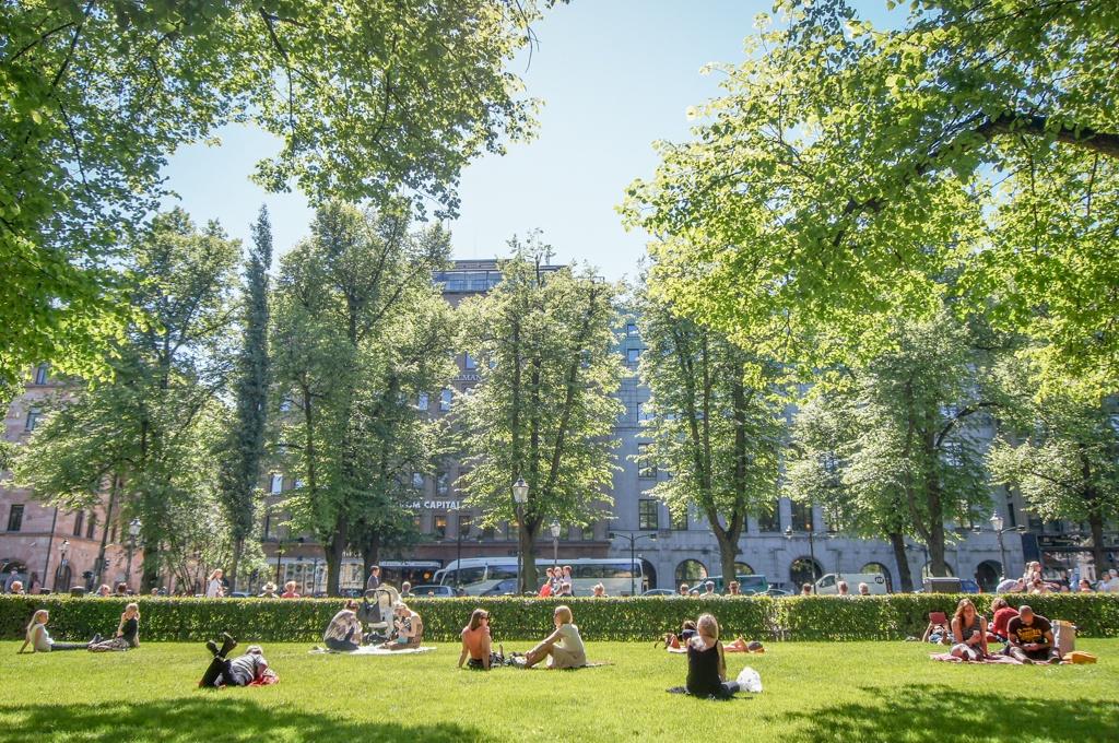 Summer in Helsinki, Finland
