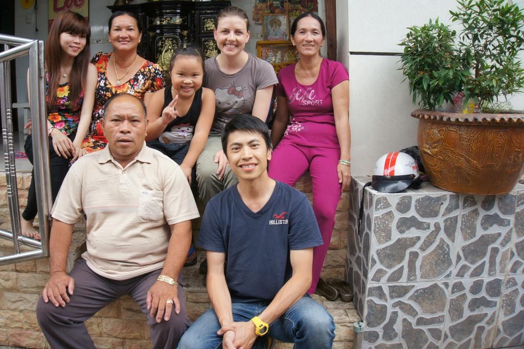 Vietnamese Family - Cai Be