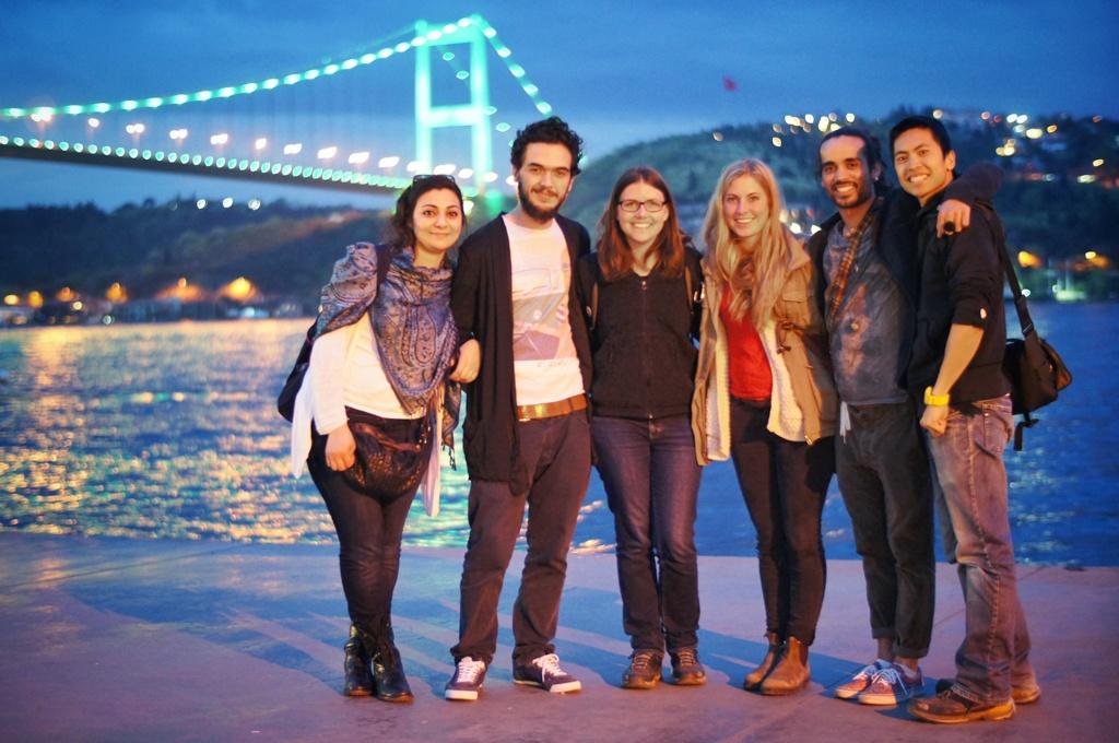 New friends - Istanbul, Turkey