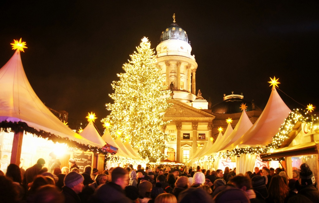 Gendarmenmarkt Christmas tree, Berlin