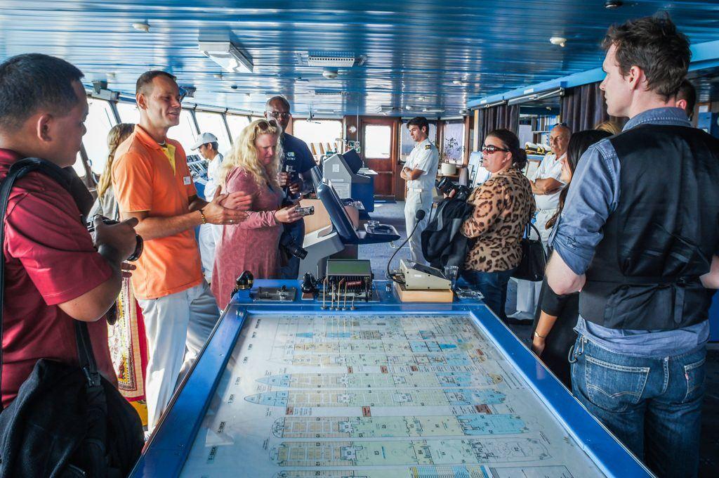 Bridge Tour, Celestyal Cruises