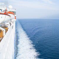 At sea, Celestyal Cruises