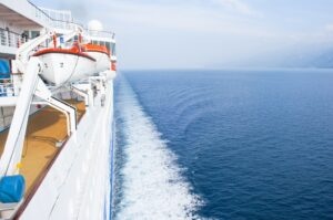 At sea, Celestyal Cruises