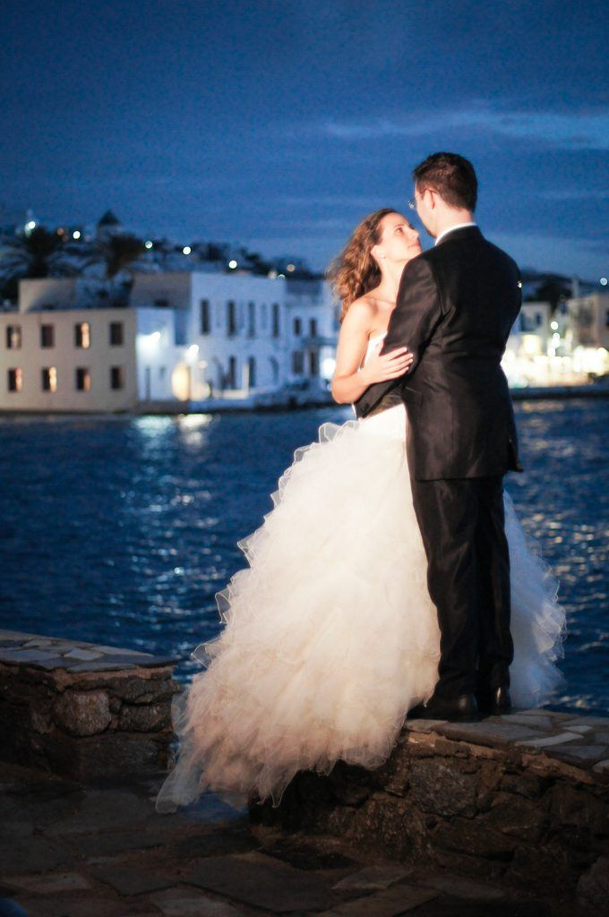 Newlyweds in Mykonos, Celestyal Cruises
