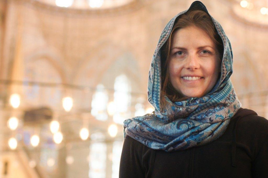 Headscarf, Istanbul, Turkey